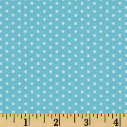 Spot On Pindot Aqua Fabric