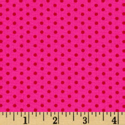 Spot On Pindot Pomegranate Fabric