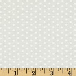 Spot On Pindot Ivory Fabric