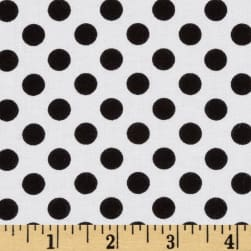 Kaufman Spot On Medium Dot White
