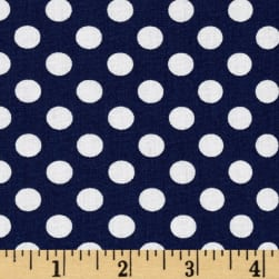 Spot On Medium Dot Navy