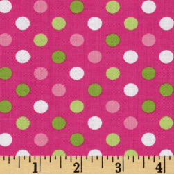 Spot On Medium Dot Bright Fabric