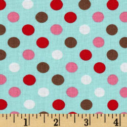 Kaufman Spot On Medium Dot Atmosphere Fabric