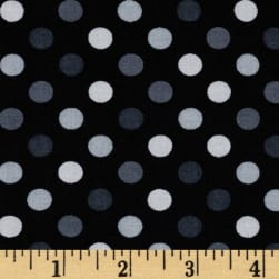 Kaufman Spot On Medium Dot Pepper Fabric