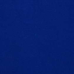 Poly/Cotton Twill Royal Fabric