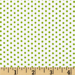 Spot On Pindot Green Fabric