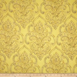 Duralee Home William Damask Yellow