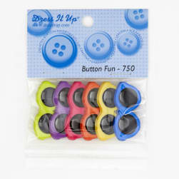 Dress It Up Embellishment Buttons  Sunglasses
