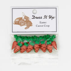 Dress It Up Embellisment Buttons  Carrot Crop