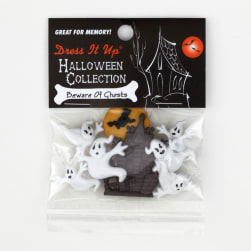Dress It Up Embellishment Buttons Beware Of Ghosts