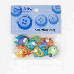 Dress It Up Embellishment Buttons  Something Fishy