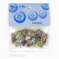 Dress It Up Embellishment Buttons  Uncorked
