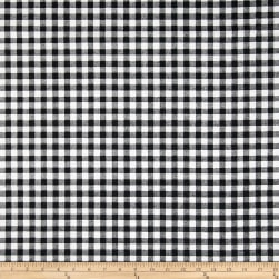 Premier Prints Newton Check Black/White Fabric