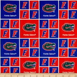 Collegiate Cotton Broadcloth University of Florida Gators
