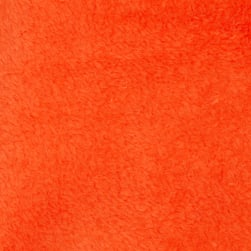Plush Coral Fleece Solid Tangerine Fabric