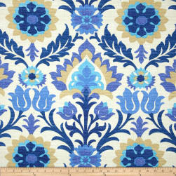 Waverly Sun N Shade Santa Maria Azure Fabric
