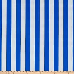 Oilcloth Stripes Blue Fabric