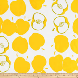 Oilcloth Solvang Yellow Fabric