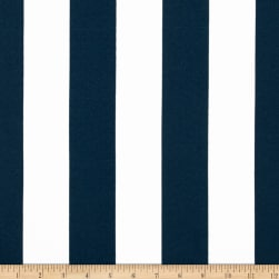Premier Prints Indoor/Outdoor Stripe Oxford/Blue/White Fabric