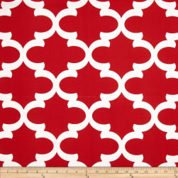 Premier Prints Indoor/Outdoor Fynn Rojo Red
