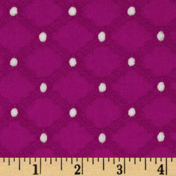 Michael Miller Lattice Cotton Eyelet Jewel Fabric