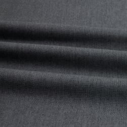 Peppered Cotton Charcoal Fabric