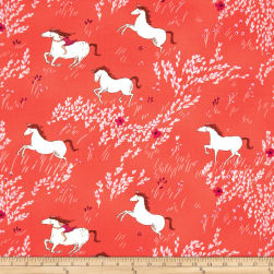 Michael Miller Wee Wander Summer Ride Melon Fabric