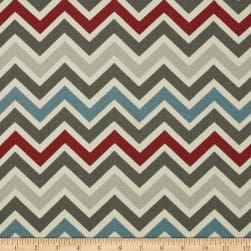 Premier Prints Zoom Zoom Natural Pewter Fabric