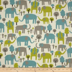 Premier Prints Trunk Tales Macon Mantis Fabric