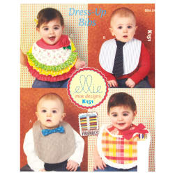 Ellie Mae Designs Dress-Up Bibs Pattern
