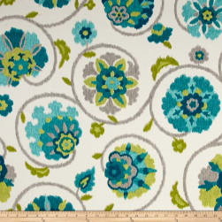P. Kaufmann Indoor/Outdoor Pamir Turquoise Fabric