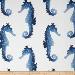 P. Kaufmann Indoor/Outdoor Seahorse Blue Marine Fabric