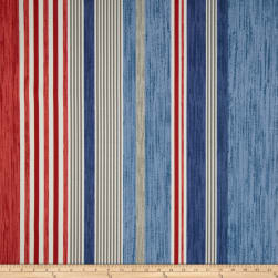 P Kaufmann Indoor/Outdoor The Right Stripe Blue Marine