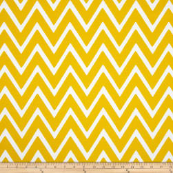 Swavelle/Mill Creek Indoor/Outdoor Zapallar Chevron Banana Fabric