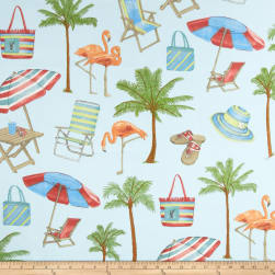 Swavelle/Mill Creek Indoor/Outdoor Sunny Isle Seabreeze Fabric