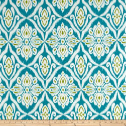Terrasol Indoor/Outdoor Jaipur Peacock Fabric