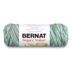 Bernat Super Value Yarn (28202) Sea Taupe
