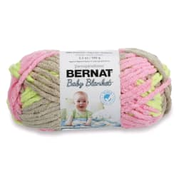 Bernat Baby Blanket Yarn (03402) Little Girl Dove