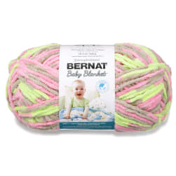 Bernat Baby Blanket Big Ball Yarn (04402) Little