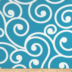 Richloom Solarium Outdoor Best Turquoise Fabric