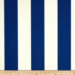 Richloom Solarium Outdoor Cabana Stripe Cobalt Fabric