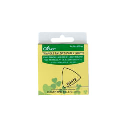Clover Triangle Tailors Chalk White