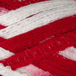 Red Heart Boutique Sashay Team Spirit Yarn 1962 Red/White