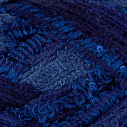Red Heart Boutique Sashay Sequins Yarn Twilight