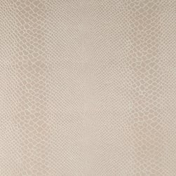 Faux Leather Lizard Pearl Fabric
