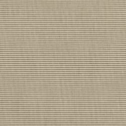 Sunbrella Outdoor Canvas Rib Taupe/Antique Beige Fabric
