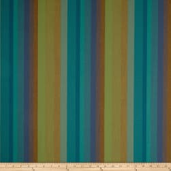 Sunbrella Outdoor Canvas Astoria Stripe Lagoon Fabric