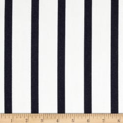 Sunbrella Outdoor Canvas Lido Stripe Indigo Fabric