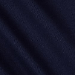 Kaufman Hampton Twill Midnight Blue Fabric