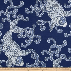 Home Accents Pisces Slub Aegean Fabric